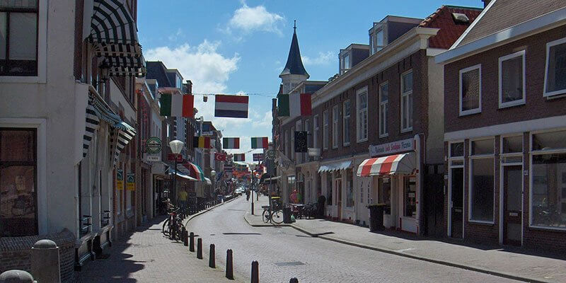 Shoppen in Scheveningen (Keizerstraat)